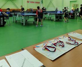 Открытый турнир СШ «Аверс» по настольному теннису «Воинская доблесть»