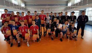 Второй этап Всероссийских соревнований по волейболу
