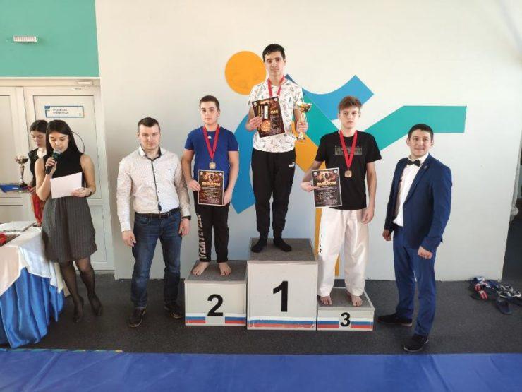 Открытый чемпионат и первенство г. Ноябрьск(ЯНАО)