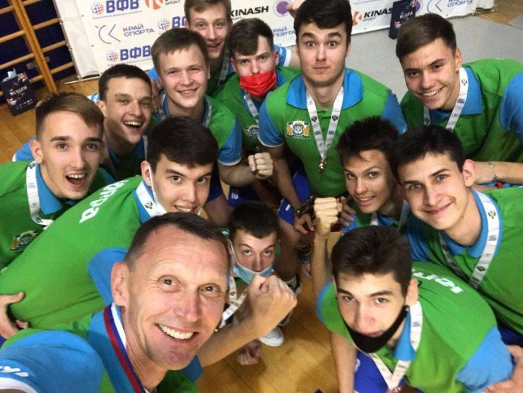 Финальный этап V летней Спартакиады молодежи России по волейболу