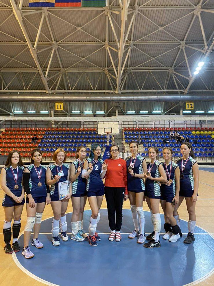 Первенство города по волейболу. г. Сургут
