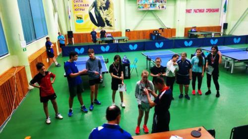 Открытый турнир СШ «Аверс» по настольному теннису «Весенняя капель»