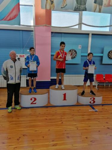 XI открытый турнир г. Лангепаса по настольному теннису памяти МС А.Н. Матыскина