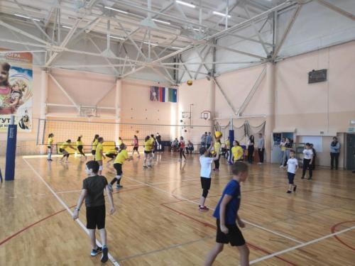Фестиваль спорта - Я люблю волейбол!